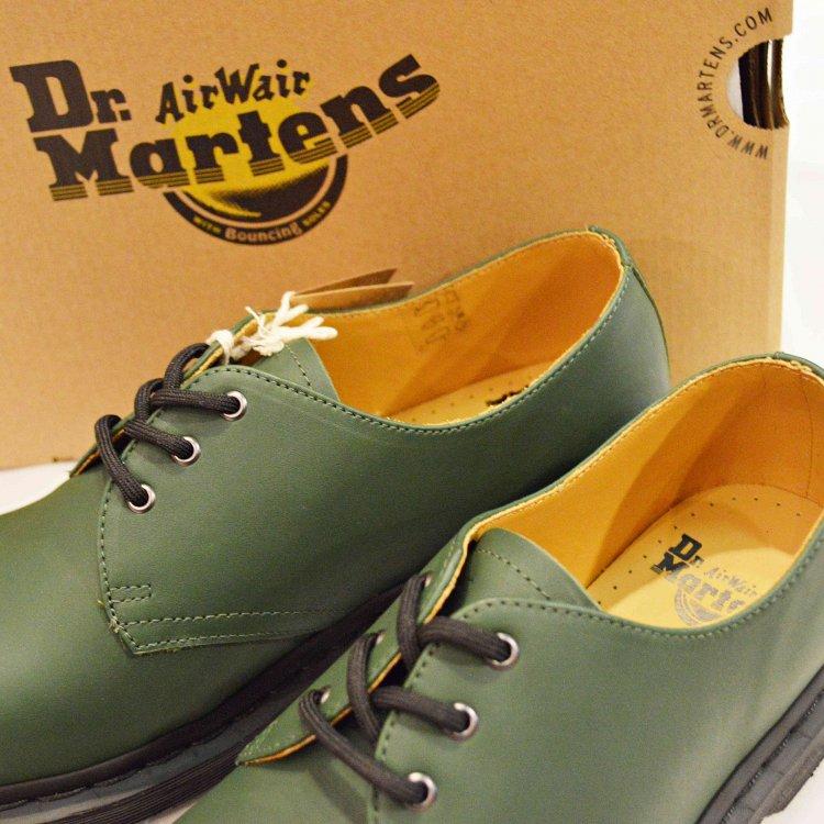 Dr.Martens ドクターマーチン / 1461TRAINING SPEC 3ホールブーツ (DARK GREEN ダークグリーン)