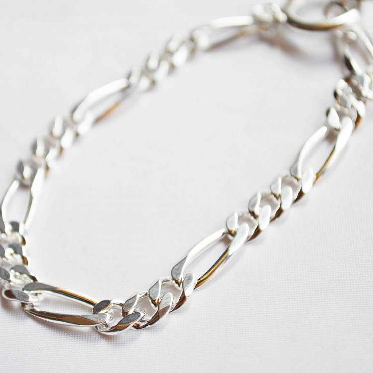 LEATHER TRAMP SELECT レザートランプセレクト / FIGARO CHAIN BRACELET フィガロ チェーンブレス (silver925)<img class='new_mark_img2' src='https://img.shop-pro.jp/img/new/icons1.gif' style='border:none;display:inline;margin:0px;padding:0px;width:auto;' />