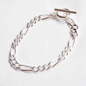 LEATHER TRAMP SELECT レザートランプセレクト / FIGARO CHAIN BRACELET フィガロ チェーンブレス (silver925)<img class='new_mark_img2' src='https://img.shop-pro.jp/img/new/icons55.gif' style='border:none;display:inline;margin:0px;padding:0px;width:auto;' />