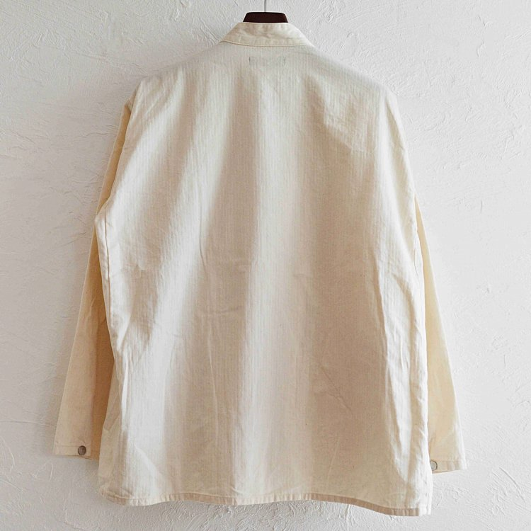 Nasngwam. ナスングワム / JIBIE JACKET ジビエジャケット (WHITE ホワイト)