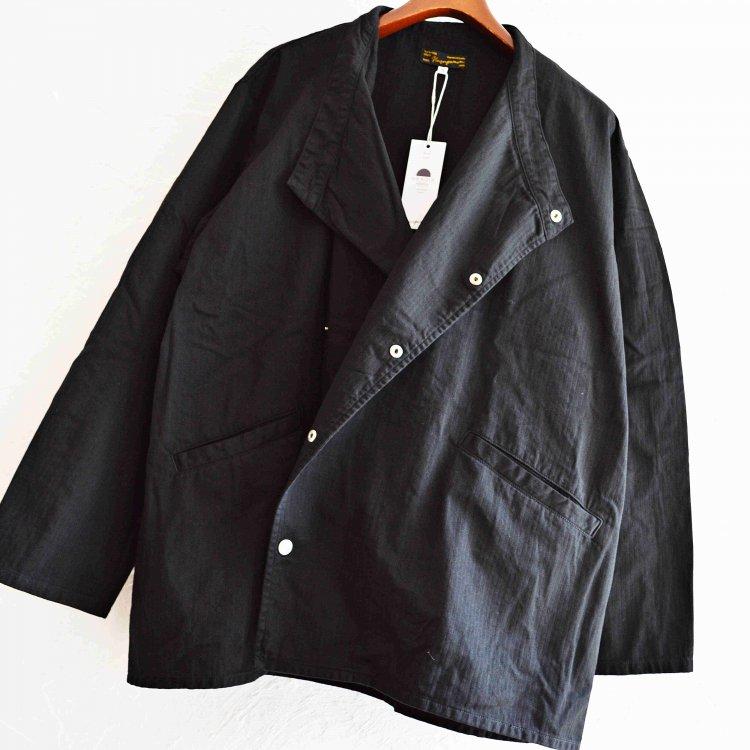 Nasngwam. ナスングワム / JIBIE JACKET ジビエジャケット (BLACK ブラック)
