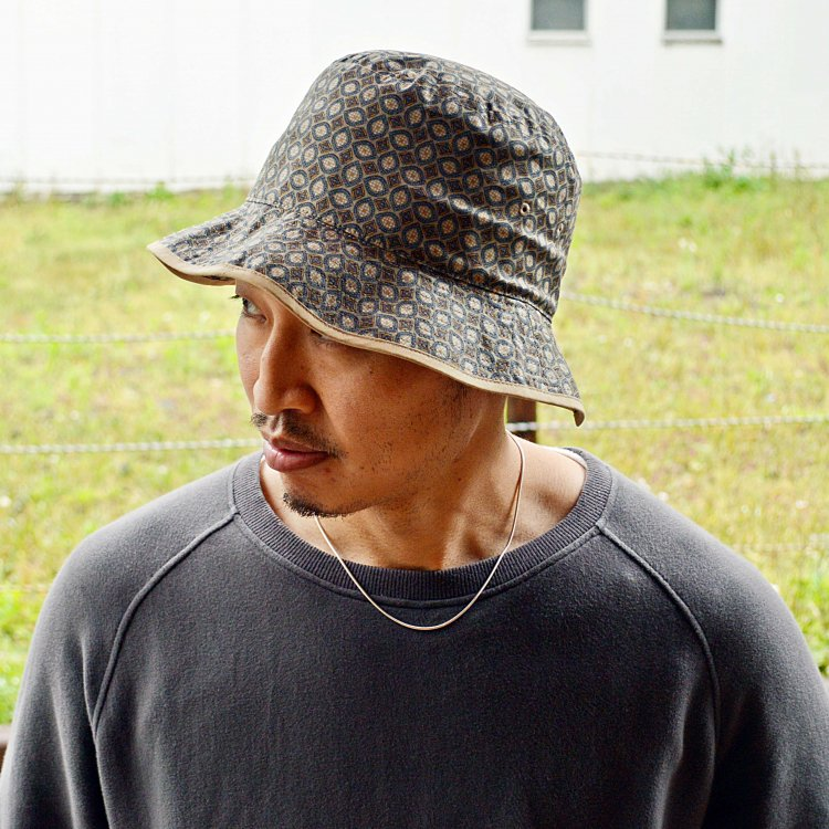 SUBLIME サブライム / HANDLE BACKET HAT ハンドルバケットハット (PAISELEY BEIGE ペイズリーベージュ)<img class='new_mark_img2' src='https://img.shop-pro.jp/img/new/icons1.gif' style='border:none;display:inline;margin:0px;padding:0px;width:auto;' />