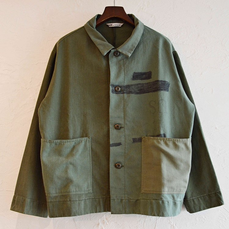 SUNNY SIDE UP サニーサイドアップ / ARMY BAG COVERALL アーミーカバーオール