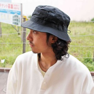 morno モーノ / COTTON WASH BUCKET HAT コットンウォッシュバケットハット (BLACK ブラック)<img class='new_mark_img2' src='https://img.shop-pro.jp/img/new/icons1.gif' style='border:none;display:inline;margin:0px;padding:0px;width:auto;' />