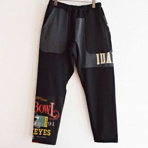 Nasngwam. ナスングワム / PUZZLE PANTS パズルパンツ (BLACK ブラック Lsize)<img class='new_mark_img2' src='https://img.shop-pro.jp/img/new/icons1.gif' style='border:none;display:inline;margin:0px;padding:0px;width:auto;' />
