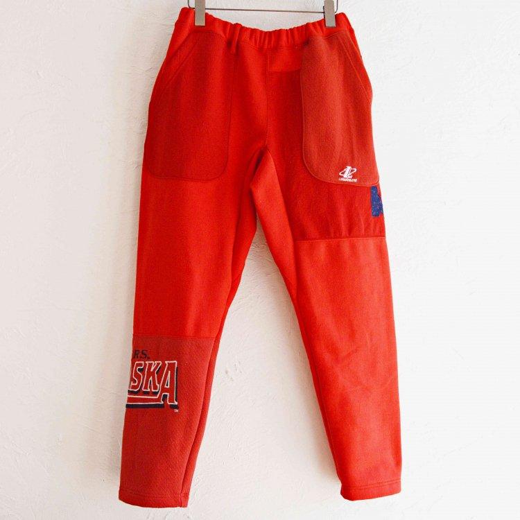 Nasngwam. ナスングワム / PUZZLE PANTS パズルパンツ (RED レッド Msize)