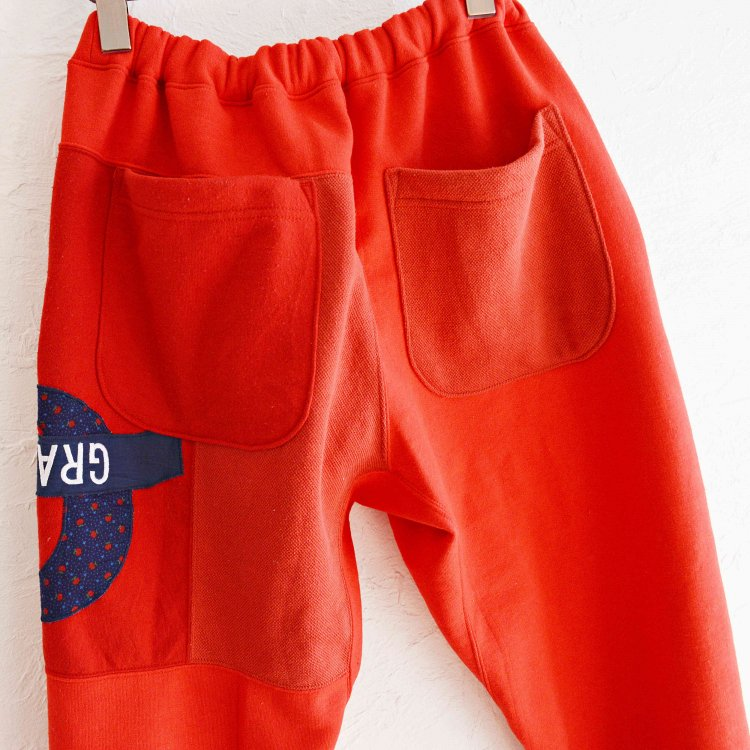 Nasngwam. ナスングワム / PUZZLE PANTS パズルパンツ (RED レッド Msize)<img class='new_mark_img2' src='https://img.shop-pro.jp/img/new/icons1.gif' style='border:none;display:inline;margin:0px;padding:0px;width:auto;' />