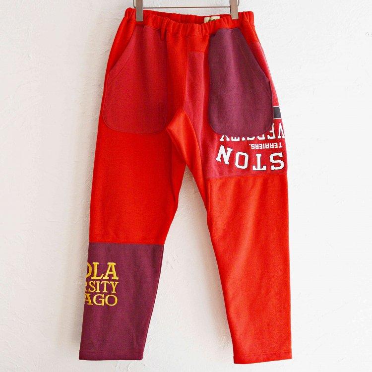 Nasngwam. ナスングワム / PUZZLE PANTS パズルパンツ (RED レッド Lsize)