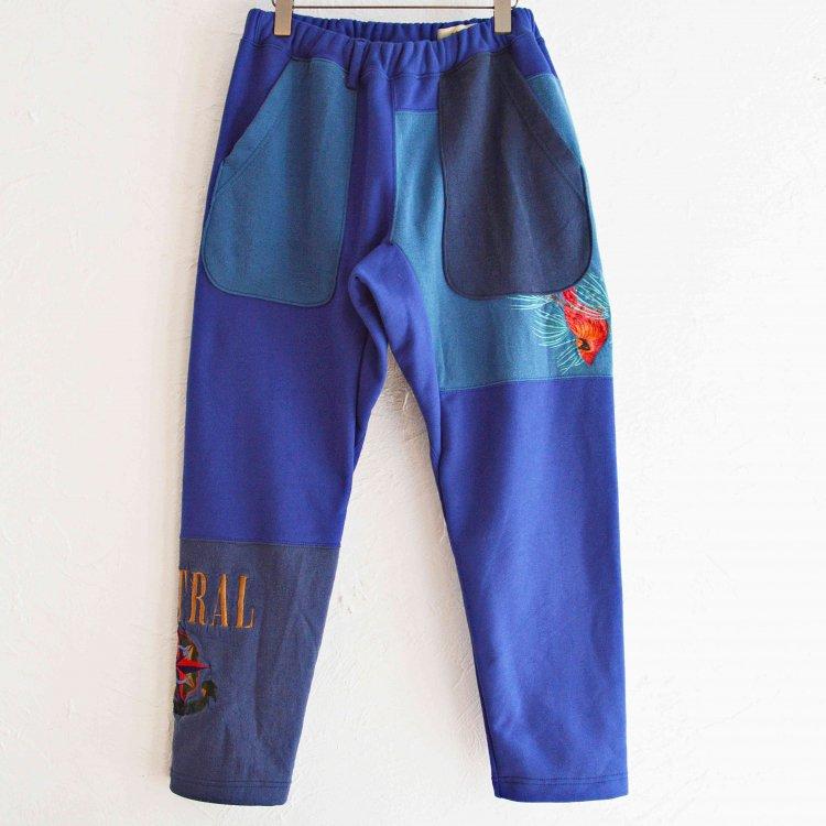 Nasngwam. ナスングワム / PUZZLE PANTS パズルパンツ (BLUE ブルー Msize)