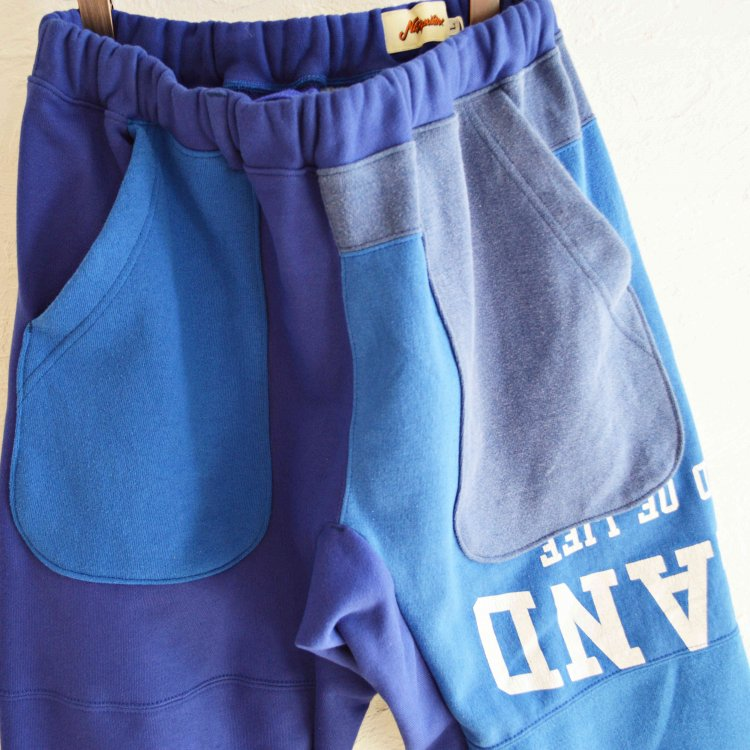 Nasngwam. ナスングワム / PUZZLE PANTS パズルパンツ (BLUE ブルー Lsize)<img class='new_mark_img2' src='https://img.shop-pro.jp/img/new/icons1.gif' style='border:none;display:inline;margin:0px;padding:0px;width:auto;' />
