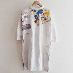 Nasngwam. KIDS ナスングワムキッズ  / PUZZLE ONEPIECE パズルワンピース (WHITE ホワイト)<img class='new_mark_img2' src='https://img.shop-pro.jp/img/new/icons1.gif' style='border:none;display:inline;margin:0px;padding:0px;width:auto;' />