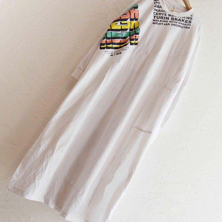 Nasngwam. ナスングワム  / PUZZLE ONEPIECE パズルワンピース (WHITE ホワイト)