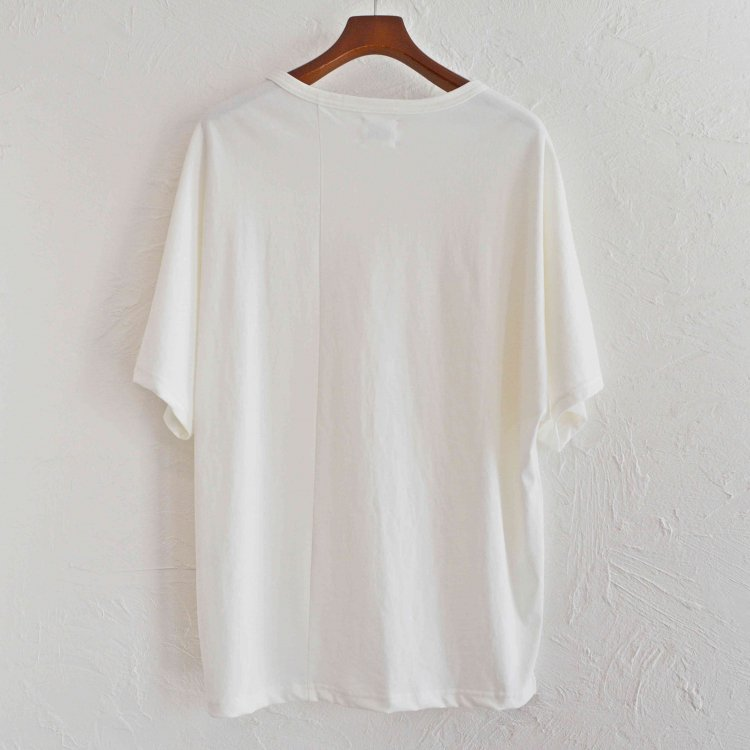 melple メイプル / Kakaako Dolamn SS ドルマンTEE (WHITE ホワイト)<img class='new_mark_img2' src='https://img.shop-pro.jp/img/new/icons1.gif' style='border:none;display:inline;margin:0px;padding:0px;width:auto;' />