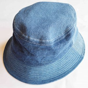 Nasngwam. ナスングワム / PAIL HAT ペールハット (DENIM デニム)<img class='new_mark_img2' src='https://img.shop-pro.jp/img/new/icons1.gif' style='border:none;display:inline;margin:0px;padding:0px;width:auto;' />