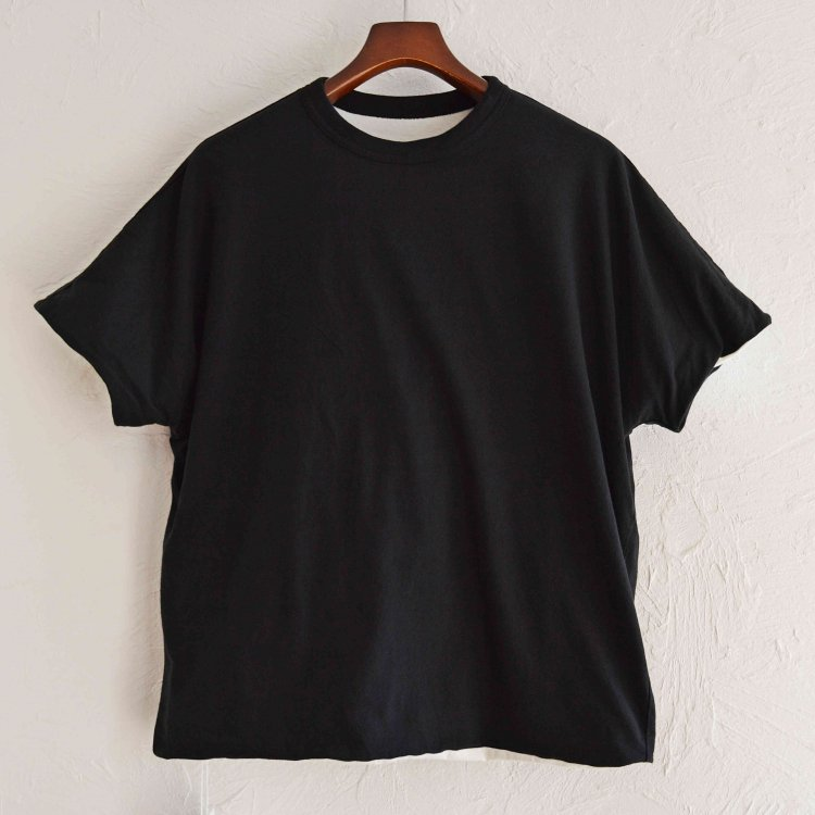 necessary or unnecessary ネセサリーオアアンネセサリー N.O.U.N ナウン / REVERSE TEE リバーシブルTEE (BLACK ブラック)<img class='new_mark_img2' src='https://img.shop-pro.jp/img/new/icons1.gif' style='border:none;display:inline;margin:0px;padding:0px;width:auto;' />