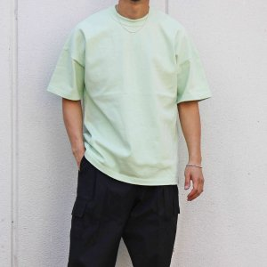 soglia ソリア / GT-� MAX -WAIT Short Sleeve T-shirt (MINT GREEN ミントグリーン)<img class='new_mark_img2' src='https://img.shop-pro.jp/img/new/icons1.gif' style='border:none;display:inline;margin:0px;padding:0px;width:auto;' />