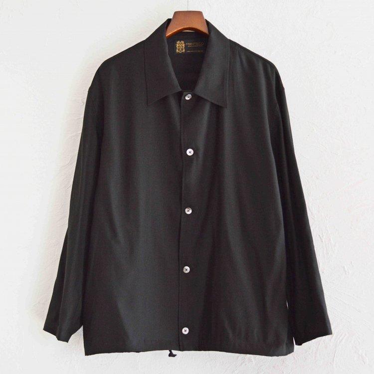 LAMOND ラーモンド / COACH JACKET コーチジャケット (BLACK ブラック)