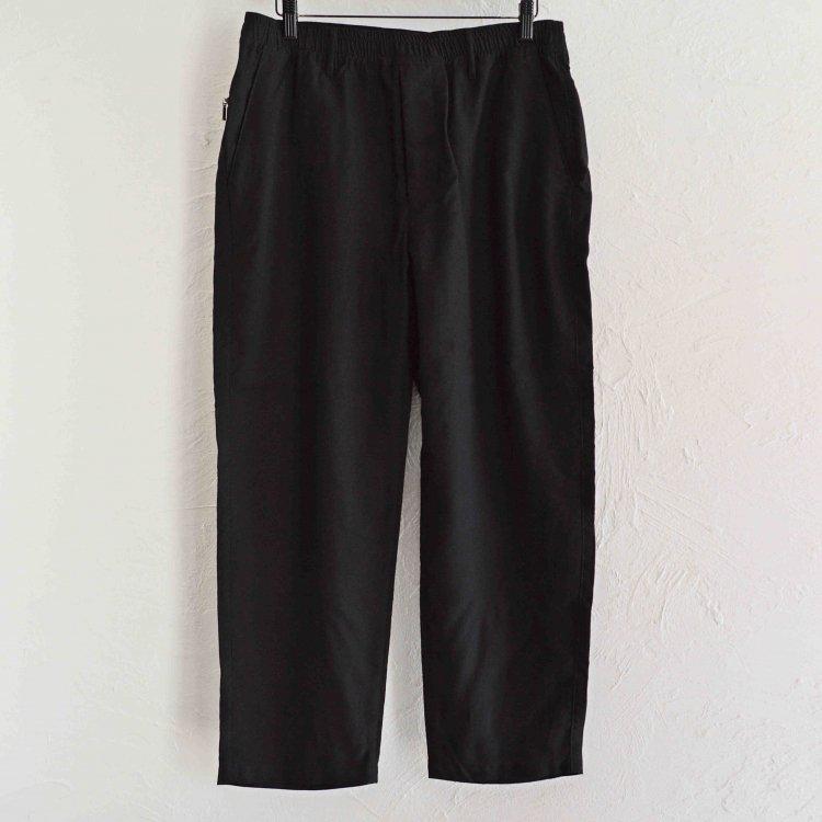 LAMOND ラーモンド / TRACK TROUSER PANTS トラックトラウザーパンツ (BLACK ブラック)
