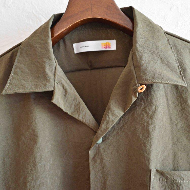 melple メイプル / Side walk Shirts サイドウォークシャツ (KHAKI カーキ)<img class='new_mark_img2' src='https://img.shop-pro.jp/img/new/icons1.gif' style='border:none;display:inline;margin:0px;padding:0px;width:auto;' />