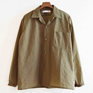 melple メイプル / Side walk Shirts サイドウォークシャツ (KHAKI カーキ)<img class='new_mark_img2' src='https://img.shop-pro.jp/img/new/icons1.gif' style='border:none;display:inline;margin:0px;padding:0px;width:auto;' />