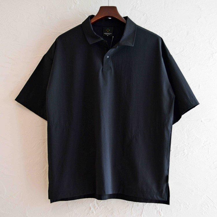 AXESQUIN アクシーズクイーン / TECH POLO テックポロ (BLACK ブラック)
