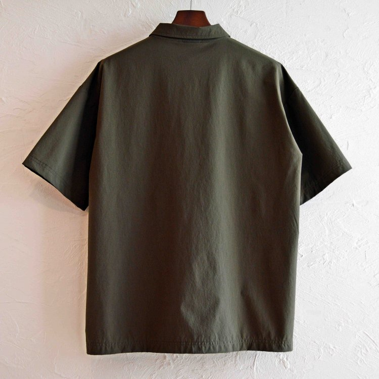 AXESQUIN アクシーズクイーン / TECH POLO テックポロ (OLIVE オリーブ)