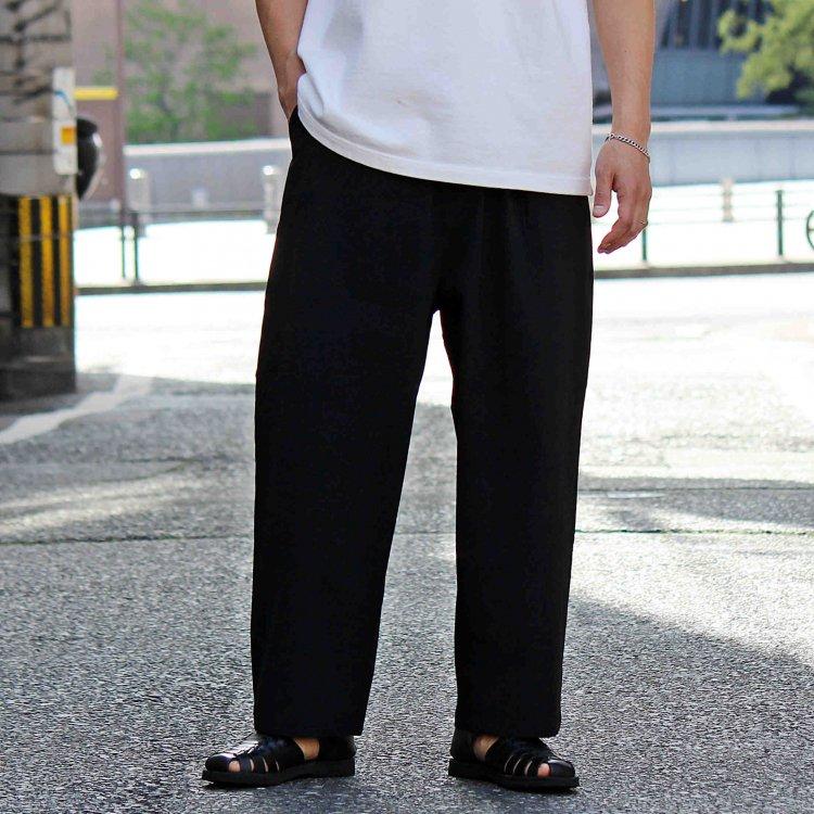 AXESQUIN アクシーズクイーン / TECH PANTS テックパンツ (BLACK ブラック)