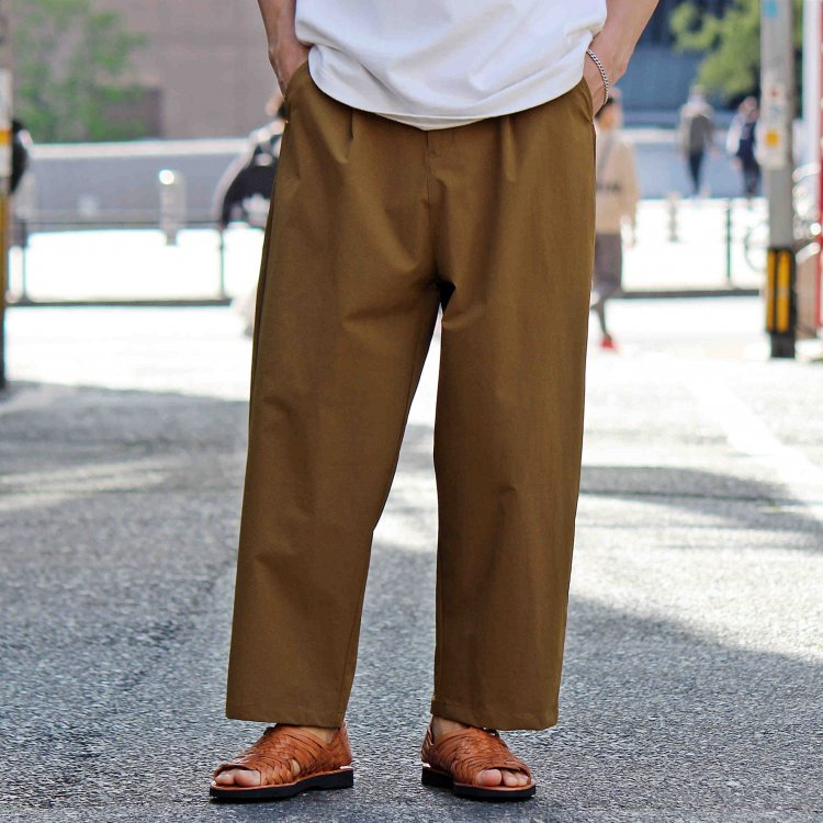 AXESQUIN アクシーズクイーン / TECH PANTS テックパンツ (COYOTE コヨーテ)
