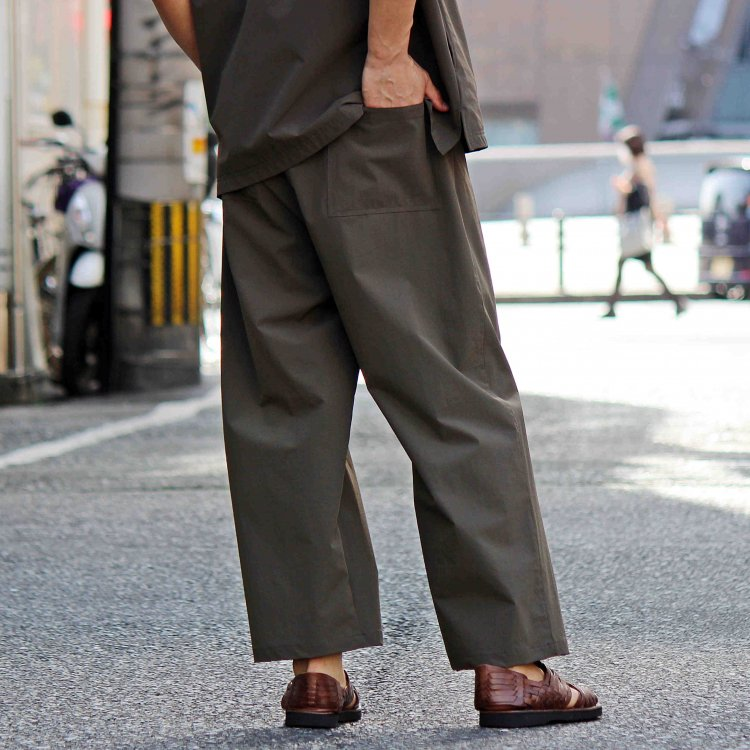 AXESQUIN アクシーズクイーン / TECH PANTS テックパンツ (OLIVE オリーブ)
