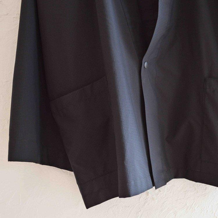 AXESQUIN アクシーズクイーン / EASY HANTEN CARDIGAN イージーハンテンカーディガン (BLACK ブラック)