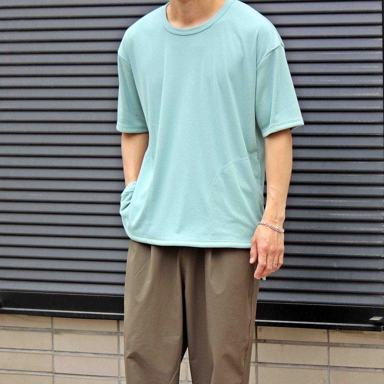 AXESQUIN アクシーズクイーン / DRAW STRING TEE (SKY BLUE スカイブルー)