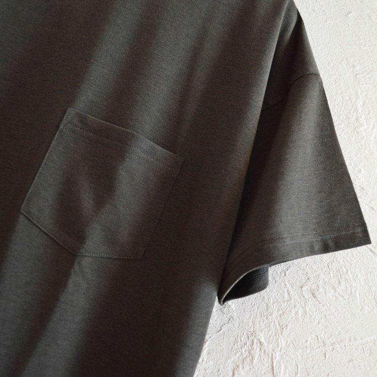 MOUNTAIN EQUIPMENT マウンテンイクイップメント / QD POCKET TEE キューディーポケットティー (BLACK ブラック)