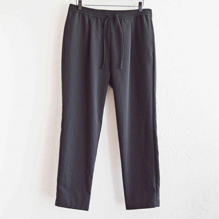 LAMOND ラモンド / SHARI PANTS シャリパンツ (BLACK ブラック)