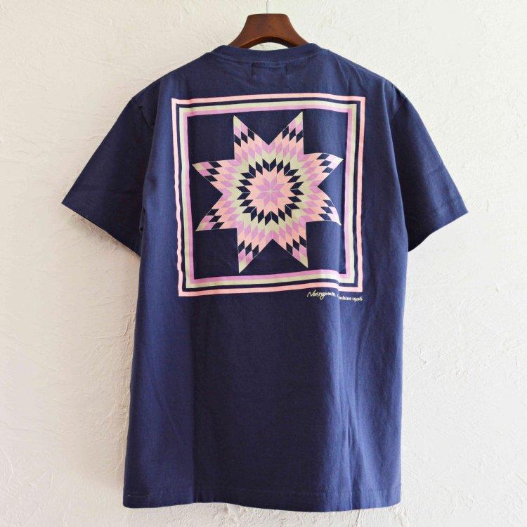 NASNGWAM×SUNSHINE STUDIO ナスングワム サンシャインスタジオ / MORNING STAR TEE モーニングスターTシャツ (NAVY ネイビー)