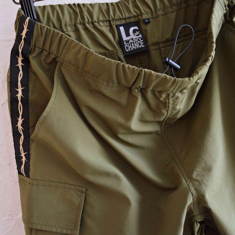 LAST CHANCE ラストチャンス / Wire Tape w/D-Ring Cargo Shorts ワイヤーテープディーリングカーゴショーツ (OLIVE オリーブ)