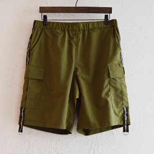 LAST CHANCE ラストチャンス / Wire Tape w/D-Ring Cargo Shorts ワイヤーテープディーリングカーゴショーツ (OLIVE オリーブ)<img class='new_mark_img2' src='https://img.shop-pro.jp/img/new/icons1.gif' style='border:none;display:inline;margin:0px;padding:0px;width:auto;' />