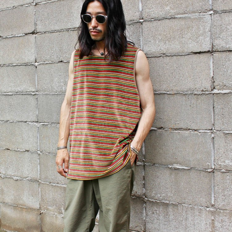 Nasngwam. ナスングワム / IRIE TANK TOP イリエタンクトップ (BROWN ブラウン)<img class='new_mark_img2' src='https://img.shop-pro.jp/img/new/icons1.gif' style='border:none;display:inline;margin:0px;padding:0px;width:auto;' />