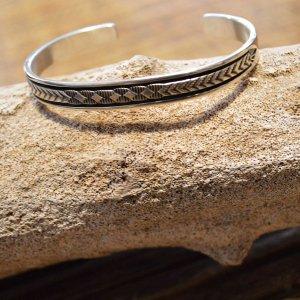 indian jewelry インディアンジュエリー / Navajo BANGLE ナヴァホバングル(BRUCE MORGAN ブルースモーガン)
