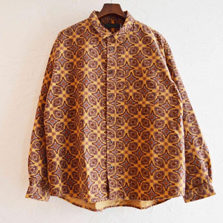 Nasngwam. ナスングワム / DAMASK SHIRTS ダマスクシャツ (MUSTARD マスタード)