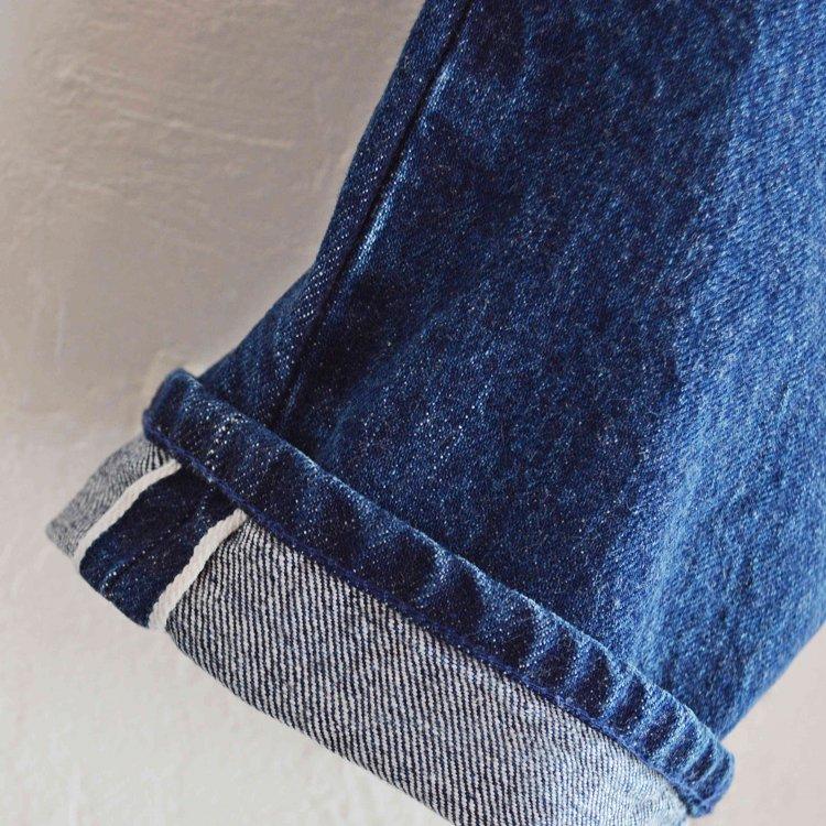 LAMOND ラモンド / SLIM DENIM PANTS スリムデニムパンツ (BLUE BIO WASH ブルーバイオウォッシュ)
