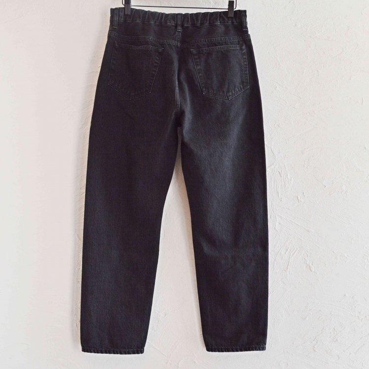 LAMOND ラモンド / SLIM DENIM PANTS スリムデニムパンツ (BLACK BIO WASH ブラックバイオウォッシュ)