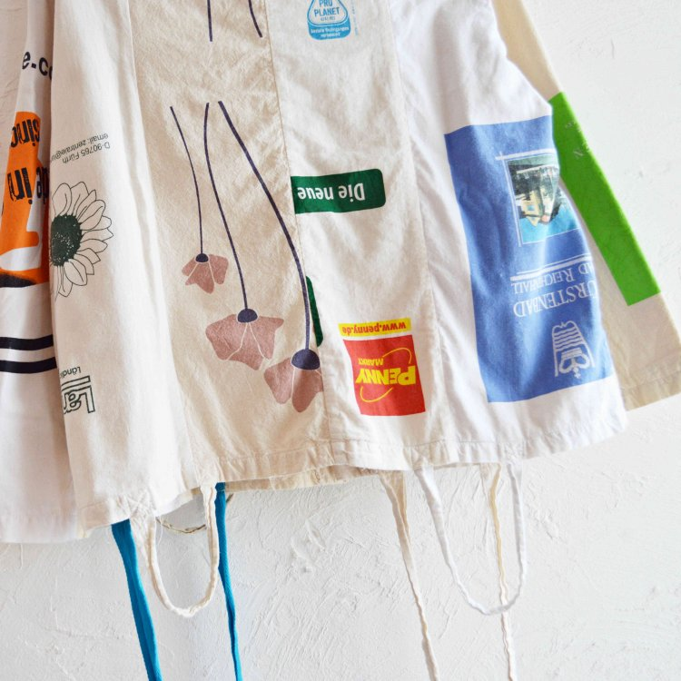 SUNNY SIDE UP サニーサイドアップ / WHITE BAG COVERALL ホワイトバッグカバーオール<img class='new_mark_img2' src='https://img.shop-pro.jp/img/new/icons1.gif' style='border:none;display:inline;margin:0px;padding:0px;width:auto;' />