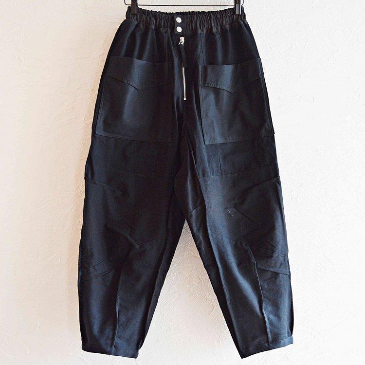 Nasngwam. ナスングワム / LONESTAR PANTS ロンスターパンツ (BLACK ブラック)