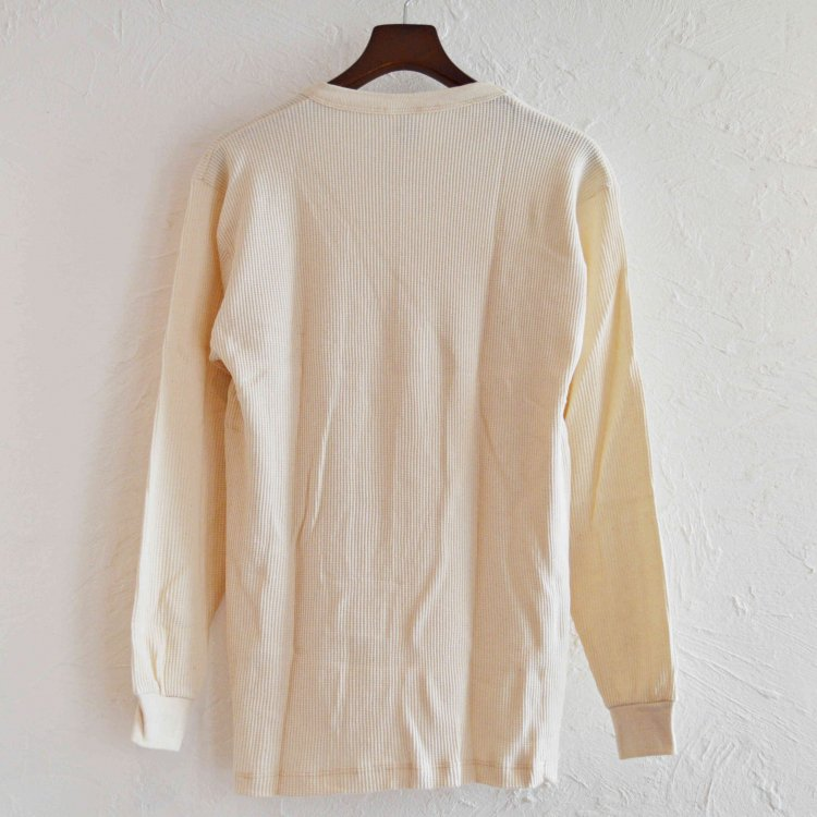 S.O.S. from Texas エスオーエスフロムテキサス / THERMAL Long Sleeve Crew Tee サーマルロングスリーブクルーティー (NATURAL ナチュラル)<img class='new_mark_img2' src='https://img.shop-pro.jp/img/new/icons1.gif' style='border:none;display:inline;margin:0px;padding:0px;width:auto;' />