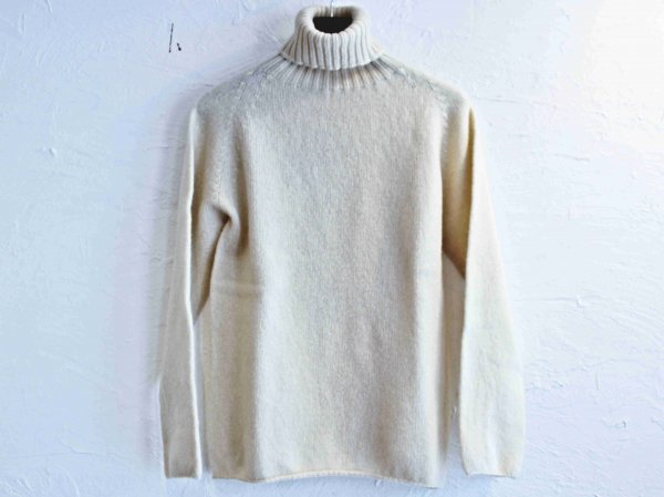L/S TURTLE NECK KNIT 【Cream】 / NOR'EASTERLY