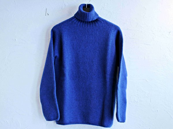 L/S TURTLE NECK KNIT 【Ocean Foece】 / NOR'EASTERLY