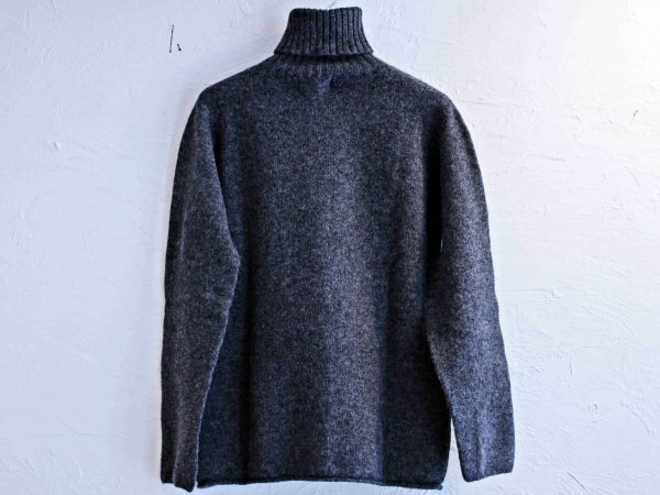 L/S TURTLE NECK KNIT 【Oxford】 / NOR'EASTERLY