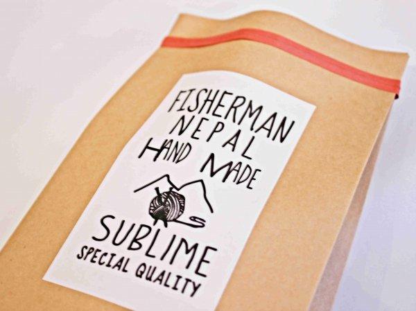HAND FISHERMAN WATCH 【beige】 / SUBLIME