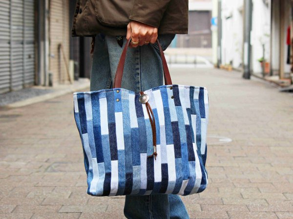 TOTE BAG 【INLAY】 / Nasngwam. ×early morning