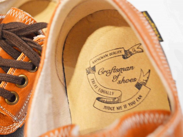 VANTTLE SHOES 【BROWN】 / Nasngwam. ナスングワム